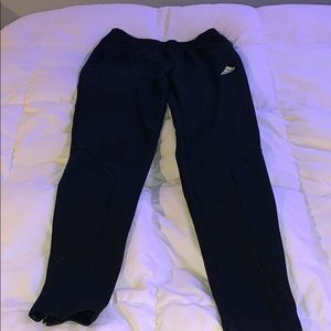 adidas all black joggers size small
